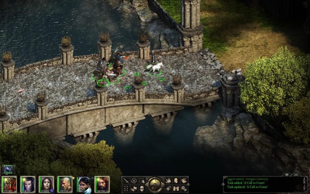 Zrzut ekranu z gry.