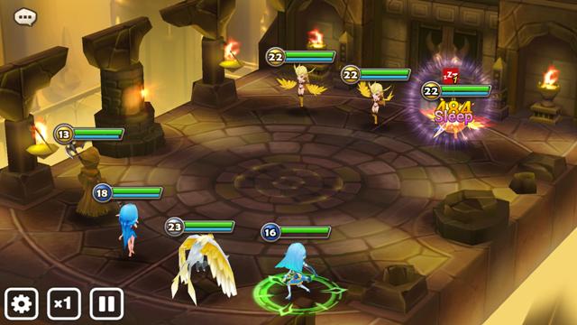 Przykładowa bitwa z kampanii dla jednego gracza.
