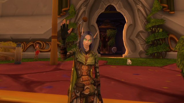 Krwawa elfka Antariel (World of Warcraft).