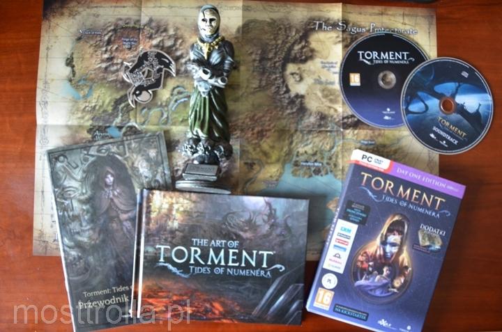 Unboxing edycji kolekcjonerskiej Torment Tides of Numenera.